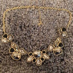 Jewelry - Silver gold and black necklace